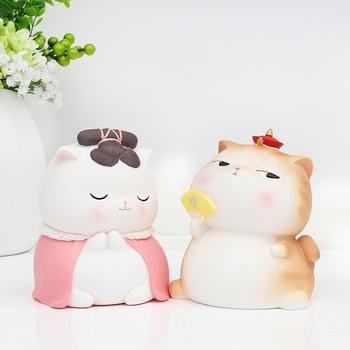 Personalized  Piggy Bank Anime Cat Dog for Kids Money Boxes for Children Salvadanaio Money Box Cartoon Animal for Kids II50CQG