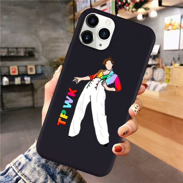 HARRY STYLES THEMED IPHONE CASE (14 VARIAN)