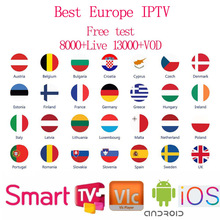 World IPTV Subscription europe italian polish albania uk spanish arabic sports iptv code M3U Enigam2 Andriod IPTV