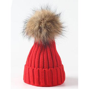 цена на 2019 NEW Boy Girl Children Winter Plain Knitted Hat Solid Color Pointed Hat Knitted kids Wool Hat Baby Warm Hat Fur Ball Hat