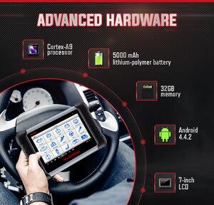 Image 4 - Autel MaxiCOM MK808 OBD2 סורק Automotivo רכב כלי אבחון OBD 2 EScaner TPMS קוד קורא OBDII מפתח קידוד CRP 909X CRP909