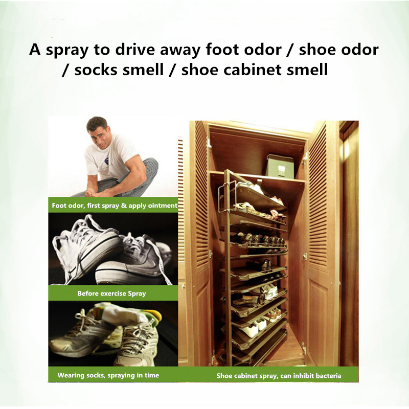 Sprays Remove Foot Odor Herbal Extract Foot Cream Treatment Peeling Feet Erosive Keratinized Blister Sweat Odor Foot Care Set in Feet from Beauty Health