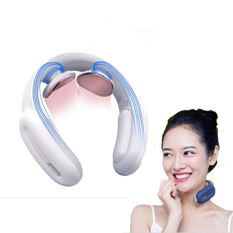 Умный Электрический массажер для шеи и плеч, инструмент для облегчения боли, забота о здоровье, расслабление шейного позвонка, физиотерапия