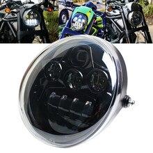 V rod 60w Faro de la motocicleta con/bajo haz Faro Moto V Rod VRSCF VRSC VRSCR 2002-2017