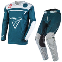 2020 MX Racing Element Shred Blue Motocross ATV MTB DH Offroad dirt bike gear Jersey Pants Combo