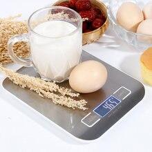 Balance de cuisine électronique portative de 5kg/1g mesurant le numérique d'affichage à cristaux liquides de haute précision pour la livraison directe de fournitures de cuisine de ménage
