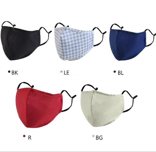 Cotton PM2.5 Mouth Mask Anti Dust Mask Bacteria Proof Flu Face Masks Care X6HB