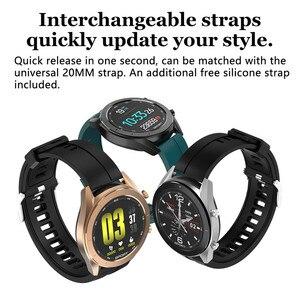 Image 3 - DT99 Smart Watch IP68 Waterproof Round HD Screen ECG Detection Changeable Dials Smartwatch Fitness Tracker Men