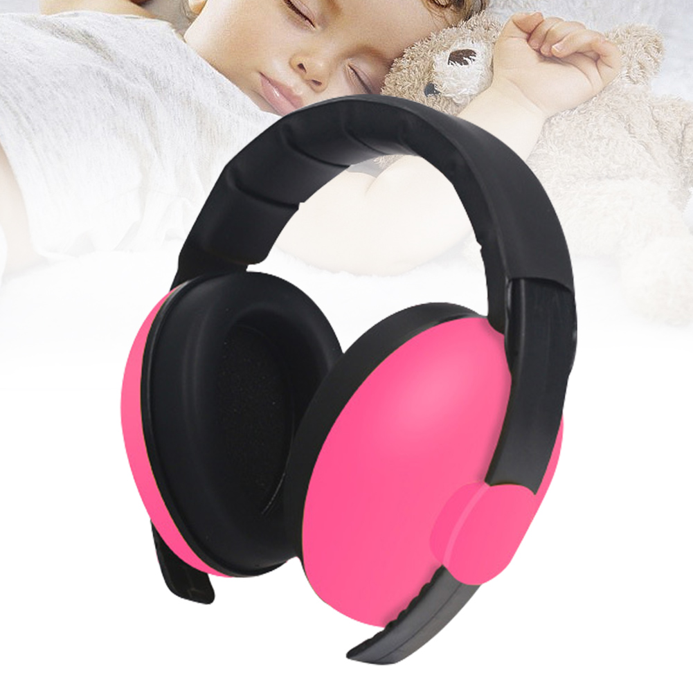 Boys Girls Slow Rebound Durable Noise Cancelling Light Weight Baby Earmuffs Kids Sound Ear Hearing Protection Sleep Concert