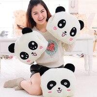 Cartoon Panda Plush Hand Warmer Pillow Double Intervene Hand Warmer Winter Girl'S Hand Warmers Customizable Logo