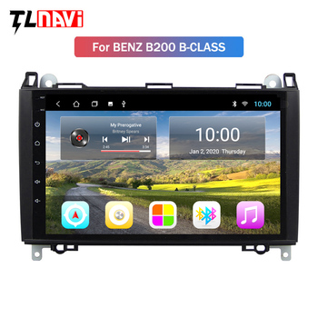 2G RAM Car Multimedia Player Android 9 GPS Autoradio For Mercedes Benz B W245 B150 B160 B170 B180 B200 B55 2004-2012 image