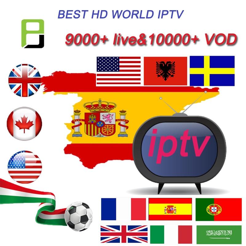 Subscription Spain IPTV Premium 24 Hours Test Full HD Spain Local Live VOD IPTV Espa A M3u Smart Tv (Just Test)