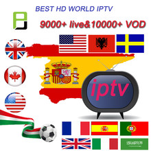 Abonnement Spanje Iptv Premium 24 Uur Test Full Hd Spanje Lokale Live Vod Iptv Espa Een M3u Smart Tv (gewoon Test)(China)