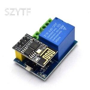 Image 1 - ESP8266โมดูลรีเลย์5V WiFi Esp 01sกิจกรรมสมาร์ทรีโมทคอนโทรลสวิตช์ควบคุมโทรศัพท์APP
