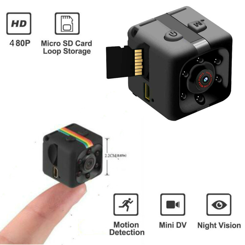 COP CAM Security Camera FHD 640*480 DV Motion Detection 32GB Card Night Vision