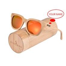 Top Brand BOBO BIRD Bamboo Sunglasses Me