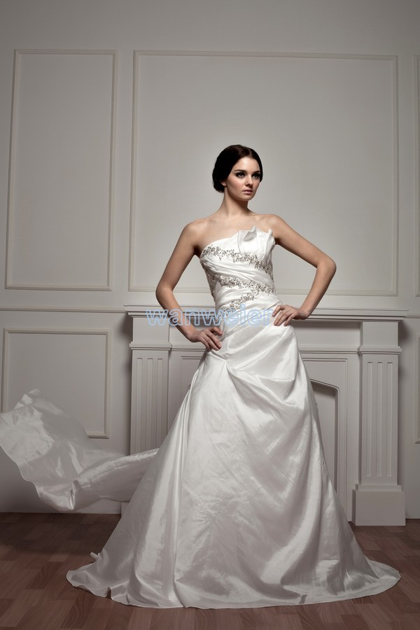 Free Shipping 2014 New Design Hot Sale Actual Images Bridal Gown Casamento Good Quality Custom Size Ball Gown Wedding Dresses