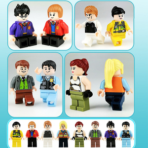 Image 3 - 100 adet/grup eylem rakamlar blokları eğitim inşaat yapı tuğla oyuncaklar Set çocuk oyuncakları hediye için