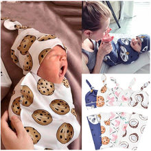 2Pcs/Set Baby Swaddle Diaper 100% Cotton Infant Newborn Thin Baby Wrap Envelope Swaddling Swaddleme Sleep Bag Sleepsack(China)