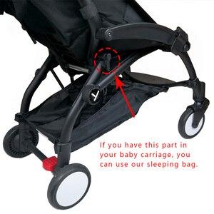 Image 5 - תינוק עגלת קן לידה יילוד עבור Babyzen yoyo + יויה Babytime עגלות סל עגלת אביזרי חורף שק שינה