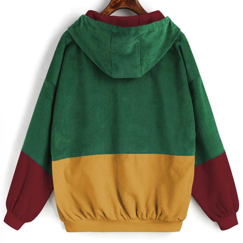 Hd155121c2b80460f85a0dc36f35e2e7fk Outerwear & Coats Jackets Long Sleeve Corduroy Patchwork Oversize Zipper Jacket Windbreaker coats and jackets women 2018JUL25