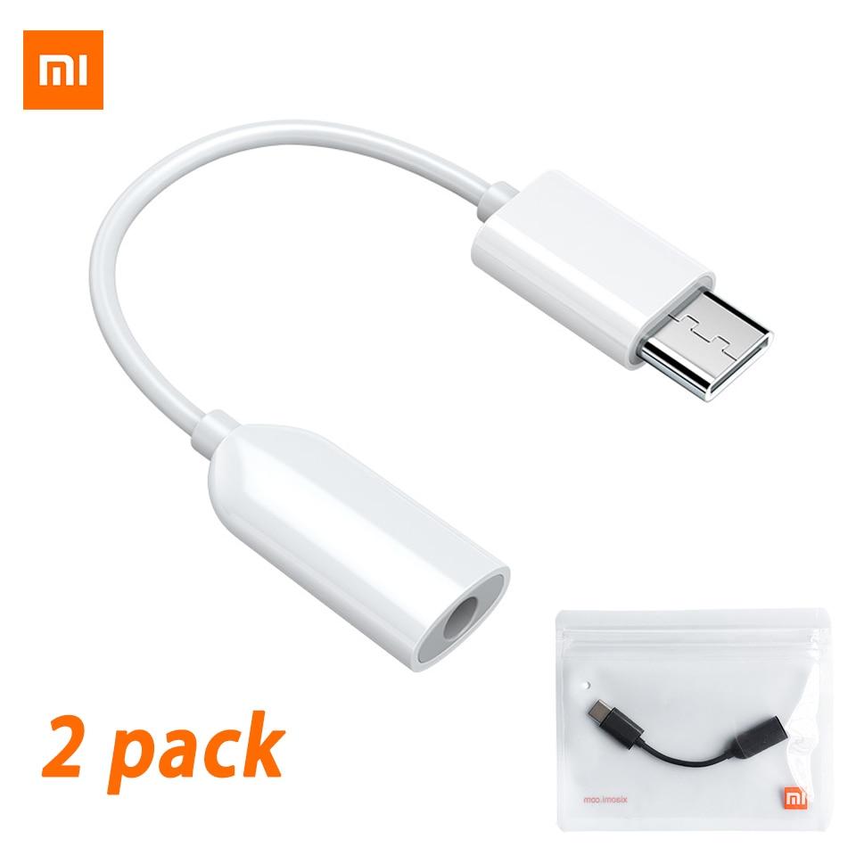 Оригинальный аудиокабель Xiaomi 3,5 с разъемом Usb C на 3,5 мм Aux адаптер Mi 11 10t Pro 5g 10 9 SE 8 Black Shark 2 Mix 3 Type C адаптер