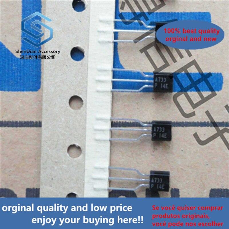 50pcs 100% Orginal New 2SA733P A733 Large Volume Triode TO-92 PNP General Purpose Amplifier Real Photo