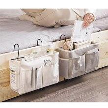 Bed Bedside Tidy Hanging Organiser Storage Holder Cabin Shelf Pocket Chair Bag for Bunk and Hospital Beds Dorm Rooms Bed Rails