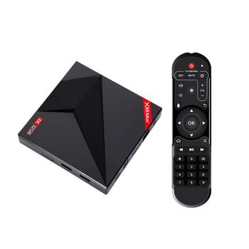 X88 MAX+ TV Box for Android 9.0 4GB RAM 64GB ROM USB Type-C 2.4G/5Ghz Dual WiFi 4K Smart Set Top Box(EU Plug)