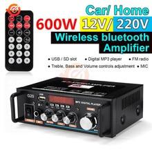 Amplifier Bluetooth Fm-Radio Infrared-Controller Digital Wireless 220V 110V Smart