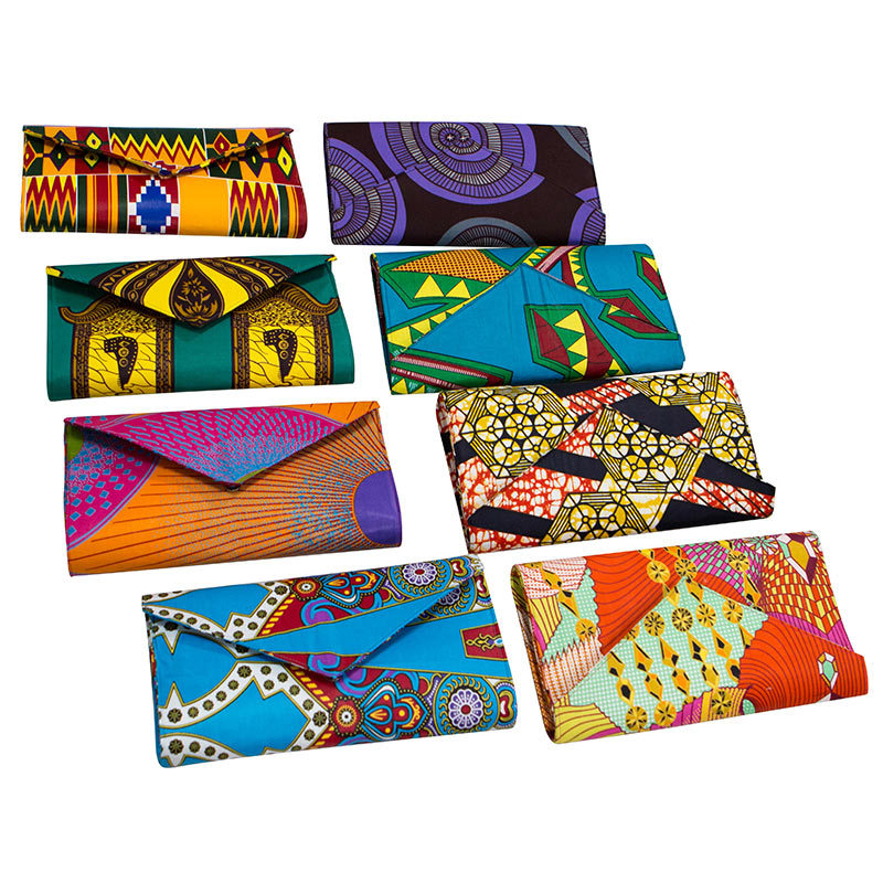 Plus Size Handbag Ankara African Print For Women Clutch Purse Bag