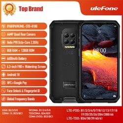 Ulefone Armor 9E Helio P90 Восьмиядерный 8 ГБ + 128 ГБ Android 10 Мобильный телефон IP69K 64MP камера NFC 6600 мАч глобальная версия смартфона