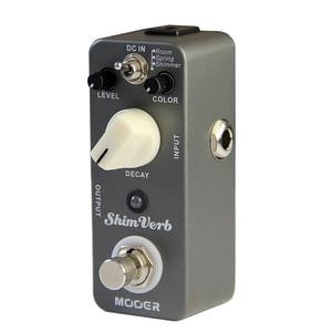 Image 2 - Mooer ShimVerb Digital Reverb Guitar Effect Pedal Mini Guitar Pedal 3 Reverb Modes for Electric Guitar True Bypass Guitar Parts