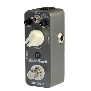Image 2 - Mooer shimverb デジタルリバーブギターエフェクトペダルミニギターペダル 3 リバーブモードエレキギタートゥルーバイパスギター部品