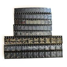 8 valor * 10 Uds = 80 Uds rectificador de puente Kit surtido contiene MB6S MB6F MB10S MB10F ABS10 DB107S DB157S DB207S