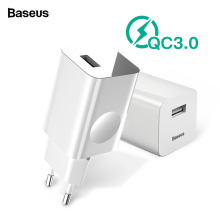 Baseus 24W Quick Charge 3.0 USB Charger AC Adapter For Wirel