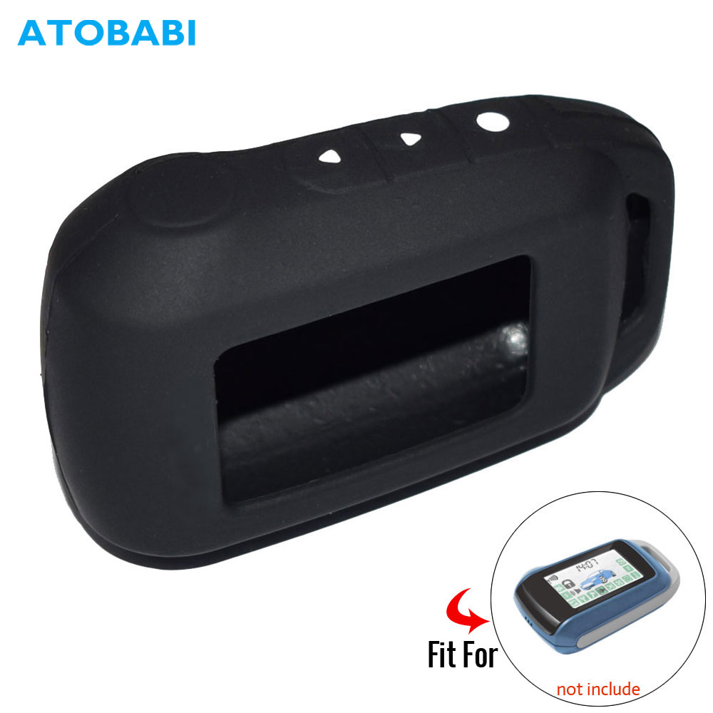 ATOBABI A92 Silicone Key Case For Starline Twage A64 A92 A95 A94 T94 Two-Way Car Alarm LCD Transmitter Remote Control Fob Cover
