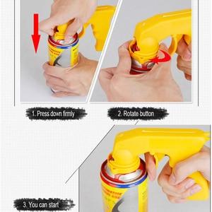 Image 5 - Spray Adapter Paint Care Aerosol Spray Gun Handle with Full Grip Trigger Locking Collar Car Maintenance