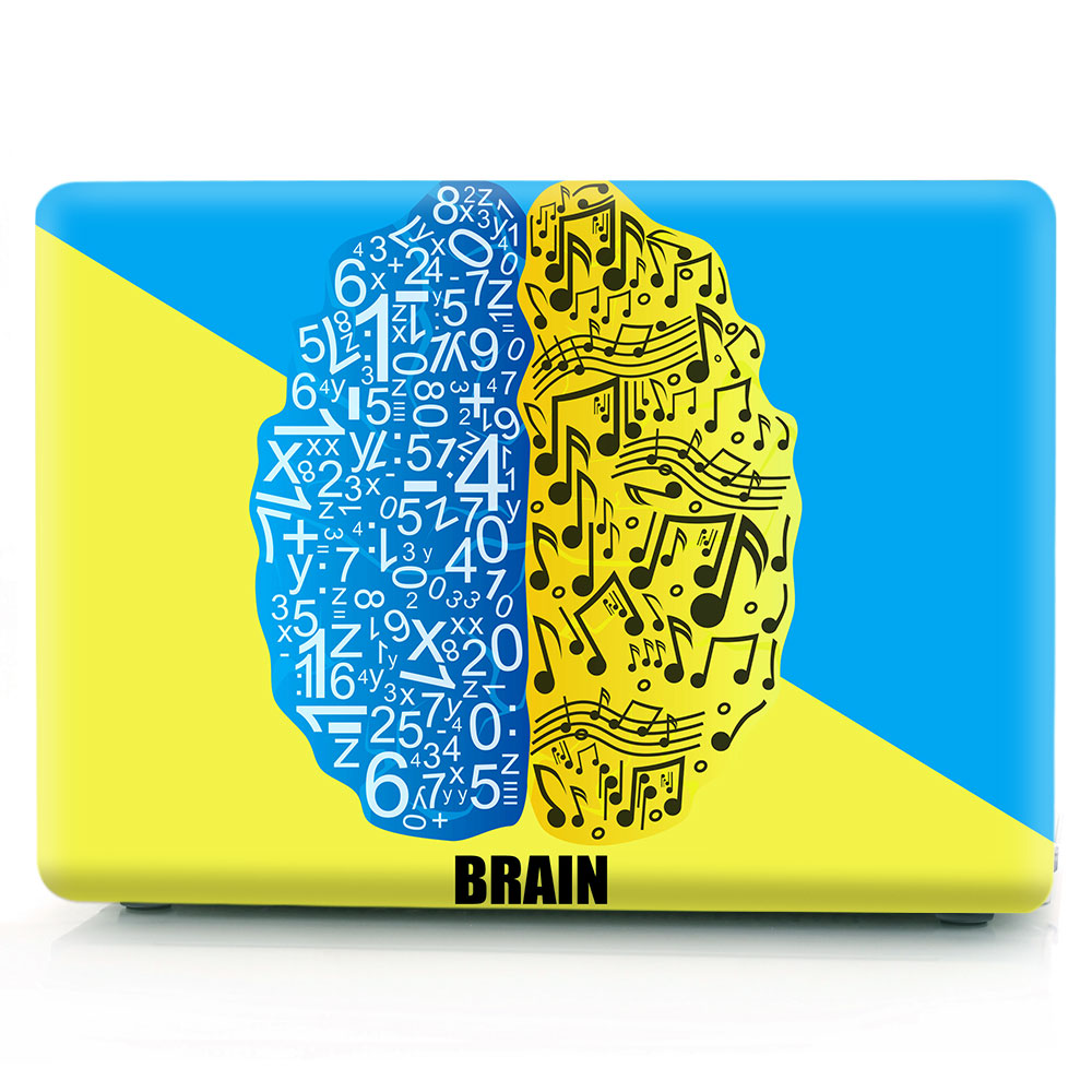 Brain Painting Case for MacBook 143