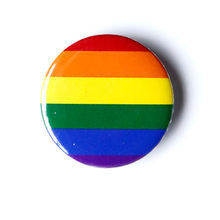 1 Pc LGBT Pride Arcobaleno Bandiera di Latta Distintivo Supporto Gay Lesbiche Bisexual Transgender Simbolo Spille Lgbt Icone Spilla(China)