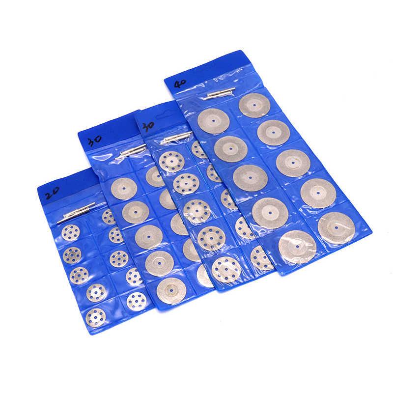 Pinkman Utensile Rotante Circolare Seghe Lame di Taglio Dischi di Diamante Disco Mandrino Per Dremel Mini Trapano Strumento di Potere