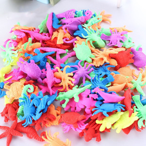 30PCS Growing In Water Bulk Swell Sea Creature Various Kinds Mixed Expansion Toy Colorful Puzzle Creative Magic Toys