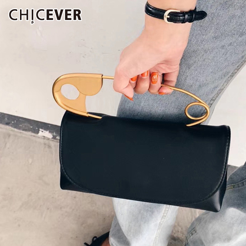 CHICEVER PU Leather Women's Belt Patchwork Pin Clothes Accessories Belts For Female Korean Chic Style 2020 Fashion Summer New