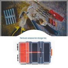 Multifunctional Toolbox Household Maintenance Electrician Tool Box ABS Hardware Car Repair Screw Parts Anti-fall Box Accessory