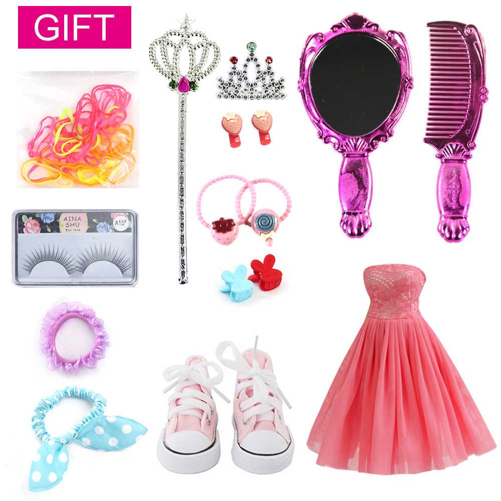 UCanaan 23,6 ''BJD куклы с 19 шарнирами SD куклы одежда наряд обувь парик волосы макияж для девочек подарок и коллекция кукол