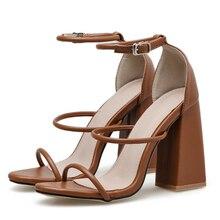 Women Sandals Block Heels Women Shoes Fashion High Heels