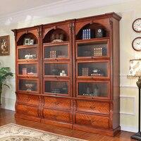 단단한 나무 도서관 및 가정 책장 wa700를위한 아주 호화스러운 큰 책장      -