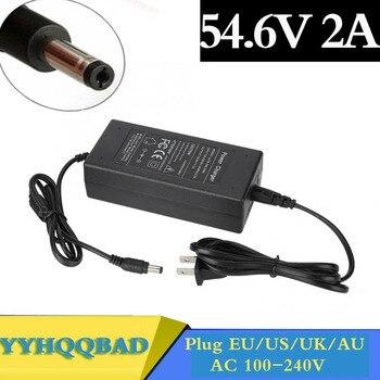 54.6V 2A  charger for 48V li-ion Battery charger DC Socket/connector for 48V 13S Lithium Ebike battery 42v 2a charger for 36v 2a lithium battery charger 10 series 3 6v battery charge ebike charger
