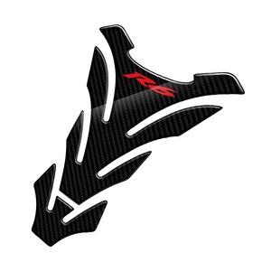 Image 3 - R6 Aufkleber 3D Carbon Look Motorrad Tank Pad Protector Aufkleber Fall für Yamaha YZF R6 r6 Tankpad Decals