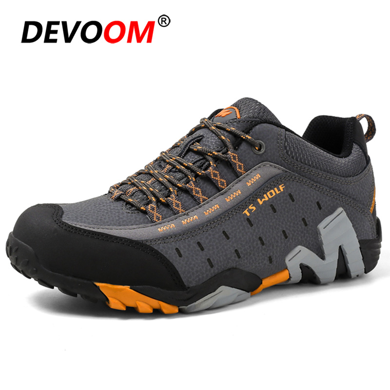 2019 Waterproof Hiking Shoes Men Women Sneakers Mountain Climbing Shoes Outdoor Unisex Sport Hunting Boots Men Trekking Shoes